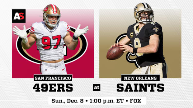 San Francisco 49ers vs. New Orleans Saints Prediction and Preview