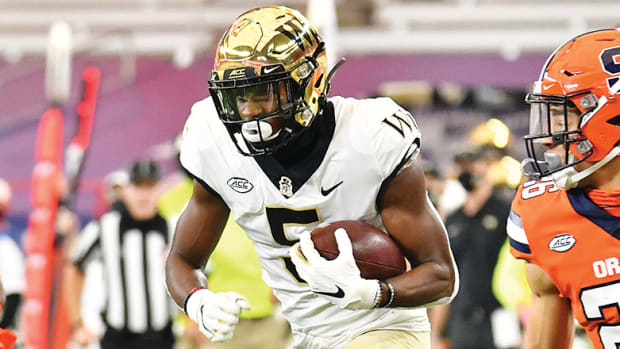 Jaquarii Roberson, Wake Forest Demon Deacons Football