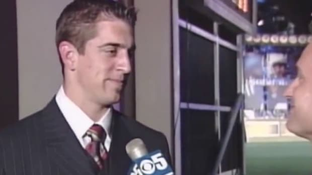 Aaron Rodgers' Response After 49ers Passed on Him during NFL Draft