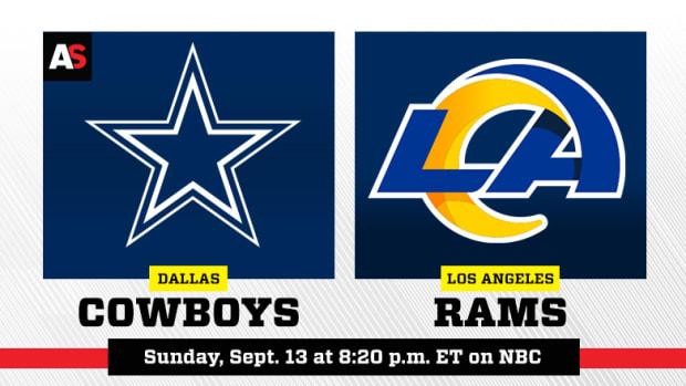 Sunday Night Football: Dallas Cowboys vs. Los Angeles Rams Prediction and Preview