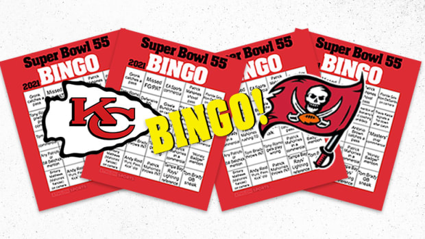 Super Bowl LV (55) Bingo