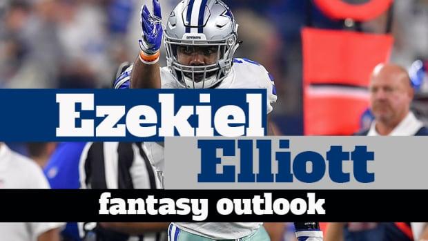 Ezekiel Elliott: Fantasy Outlook 2019