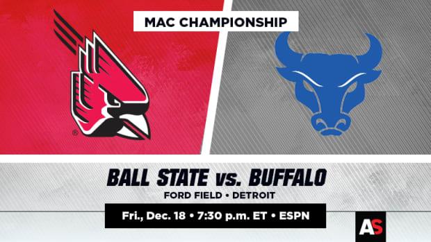 MAC Championship Prediction and Preview: Ball State vs. Buffalo