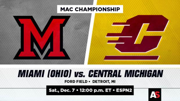 MAC Championship Prediction and Preview: Miami (Ohio) vs. Central Michigan