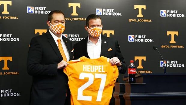 Josh Heupel, Tennessee Volunteers Football