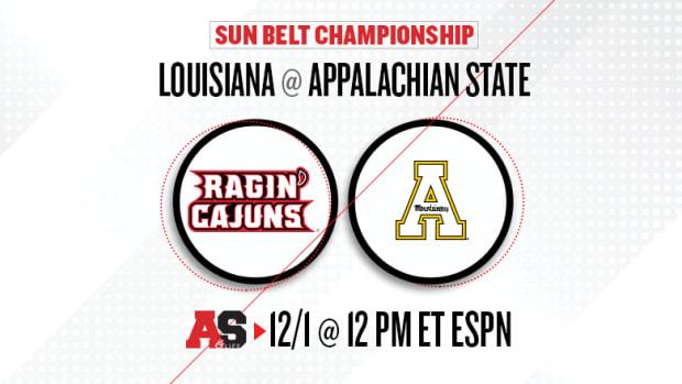 Sun Belt Championship Game Prediction and Preview: Louisiana vs. Appalachian State