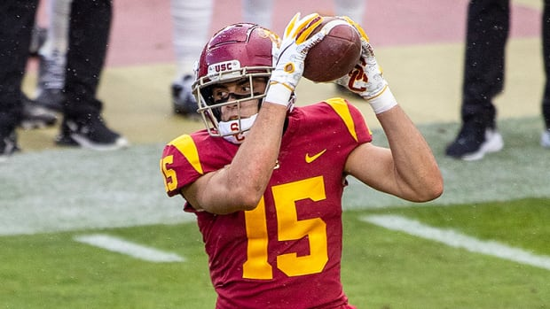 USC Football: Drake London Poised to Carry the Mantle for Wide Receiver U.