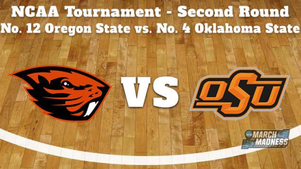Oregon State Beavers vs. Oklahoma State Cowboys Prediction: NCAA Tournament Second Round Preview