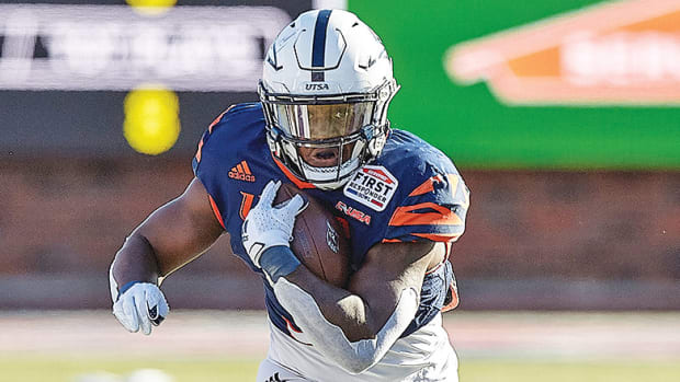 Sincere McCormick, UTSA Roadrunners, Conference USA Football 2021 All-Conference Team