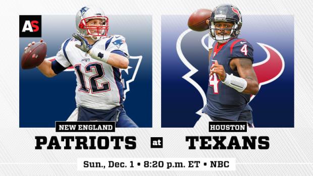 Sunday Night Football: New England Patriots vs. Houston Texans Prediction and Preview