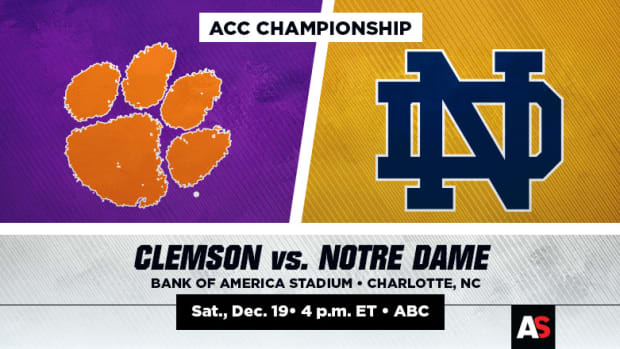 ACC Championship Prediction and Preview: Clemson vs. Notre Dame