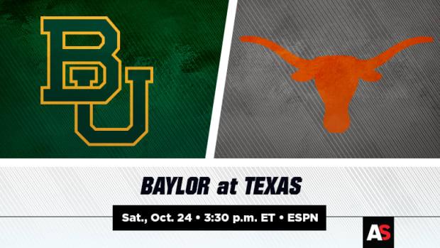 Baylor (BU) vs. Texas (UT) Football Prediction and Preview