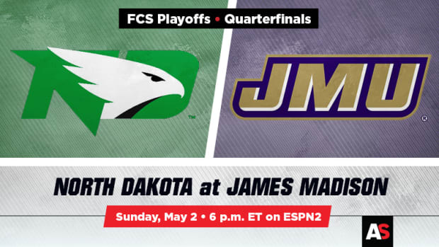 FCS Quarterfinal Prediction and Preview: North Dakota vs. James Madison