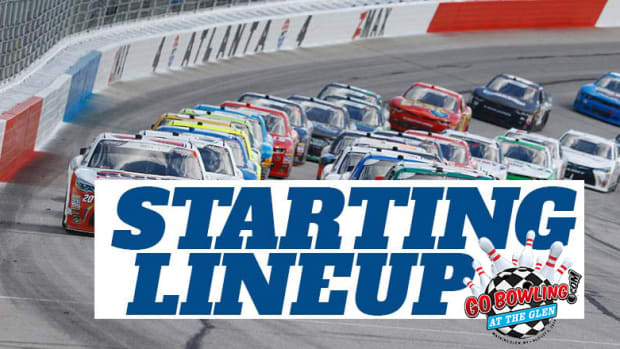 NASCAR Starting Lineup for Sunday's Go Bowling At The Glen at Watkins Glen International
