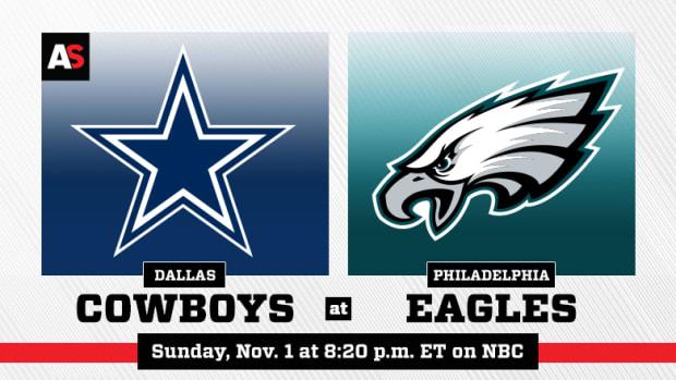 Sunday Night Football: Dallas Cowboys vs. Philadelphia Eagles Prediction and Preview