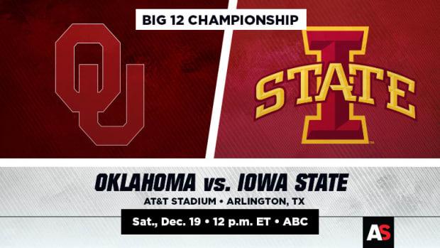 Big 12 Championship Prediction and Preview: Oklahoma vs. Iowa State