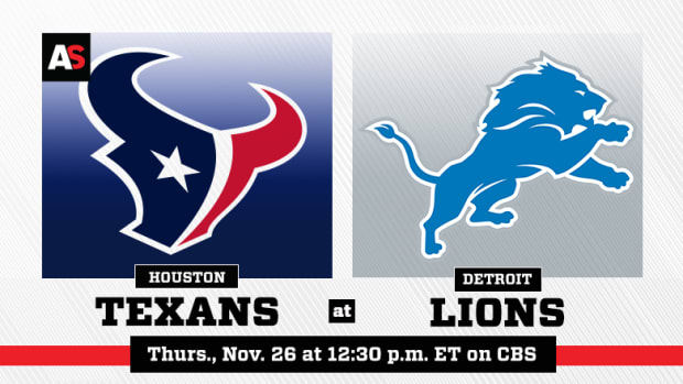 Thanksgiving Day: Houston Texans vs. Detroit Lions Prediction and Preview