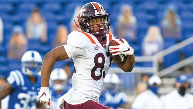 Tayvion Robinson, Virginia Tech Hokies Football