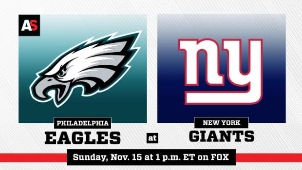 Philadelphia Eagles vs. New York Giants Prediction and Preview
