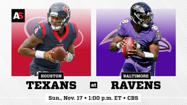 Houston Texans vs. Baltimore Ravens Prediction and Preview