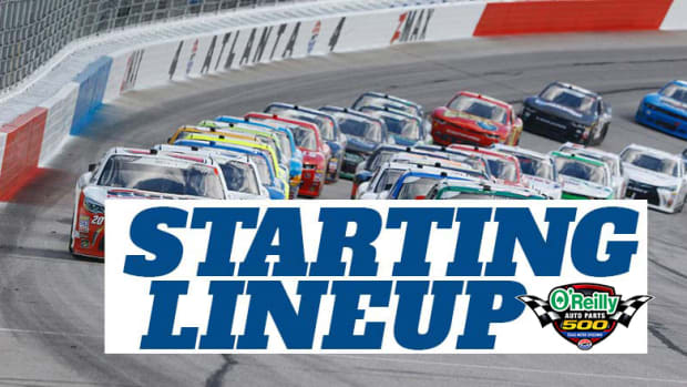 NASCAR Starting Lineup for O'Reilly Auto Parts 500 at Texas Motor Speedway