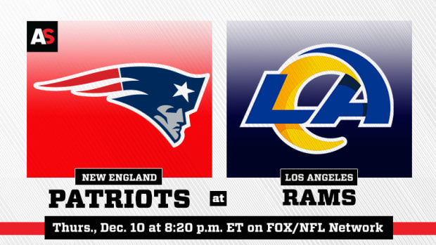 Thursday Night Football: New England Patriots vs. Los Angeles Rams Prediction and Preview
