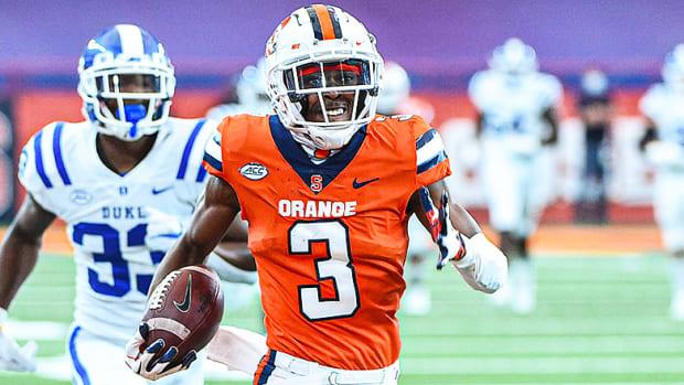 Taj Harris, Syracuse Orange Football