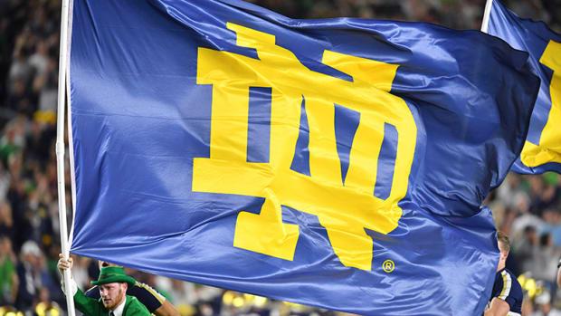 Notre Dame flag