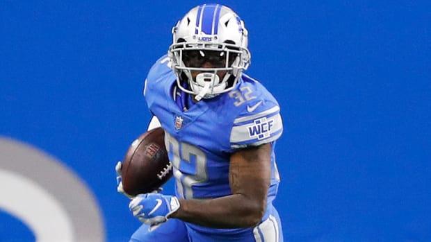 D'Andre Swift, Detroit Lions