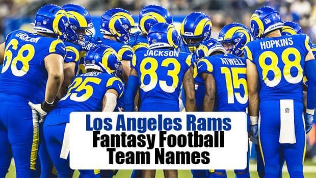 Los Angeles Rams Fantasy Football Team Names