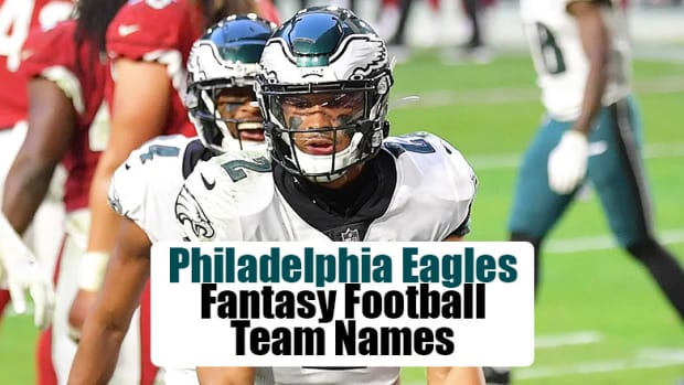 Philadelphia Eagles Fantasy Football Team Names