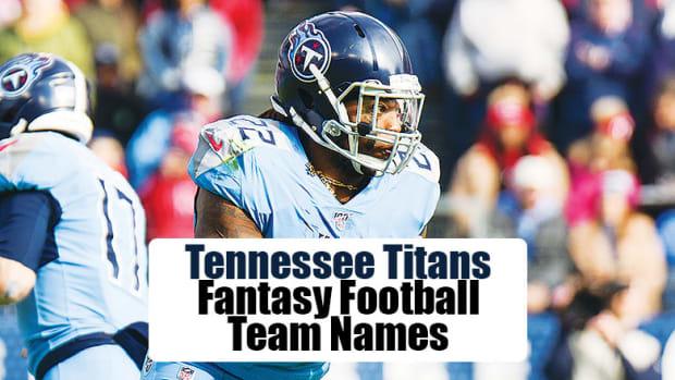 Tennessee Titans Fantasy Football Team Names