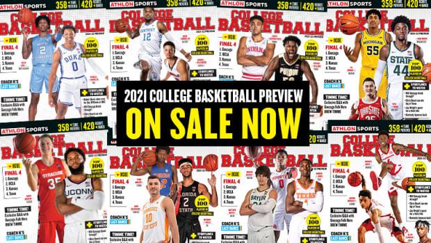Athlon Sports' 2021 College Basketball Magazine
