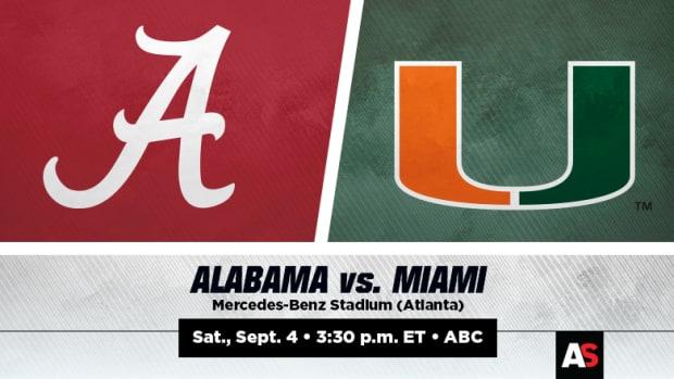 Alabama Crimson Tide vs. Miami Hurricanes Prediction and Preview