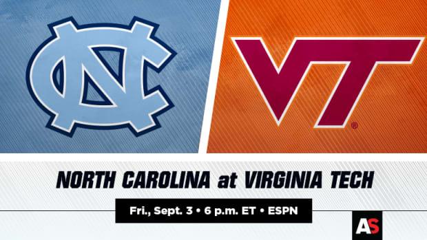 North Carolina Tar Heels vs. Virginia Tech Hokies Prediction and Preview