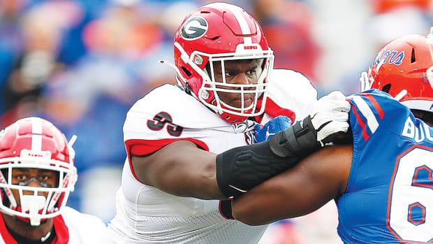 Jordan Davis, Georgia Bulldogs Football