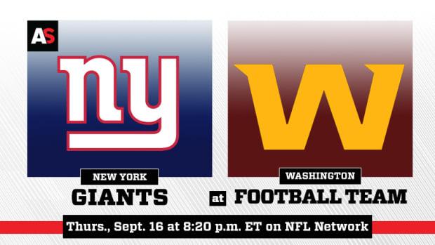 Thursday Night Football: New York Giants vs. Washington Football Team Prediction and Preview