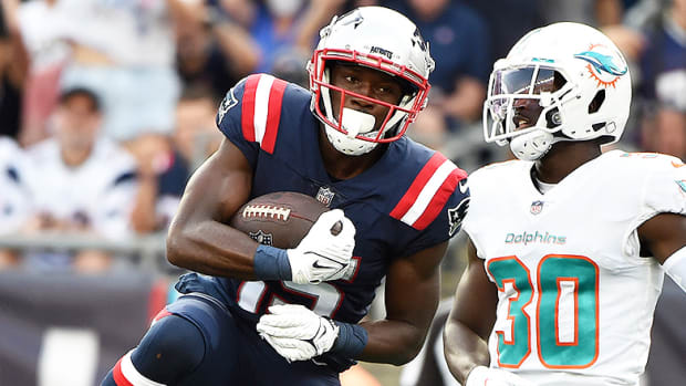 Nelson Agholor, New England Patriots