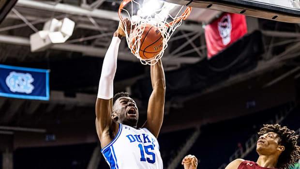 Mark Williams, Duke Blue Devils Basketball in 2021 ACC Tournament