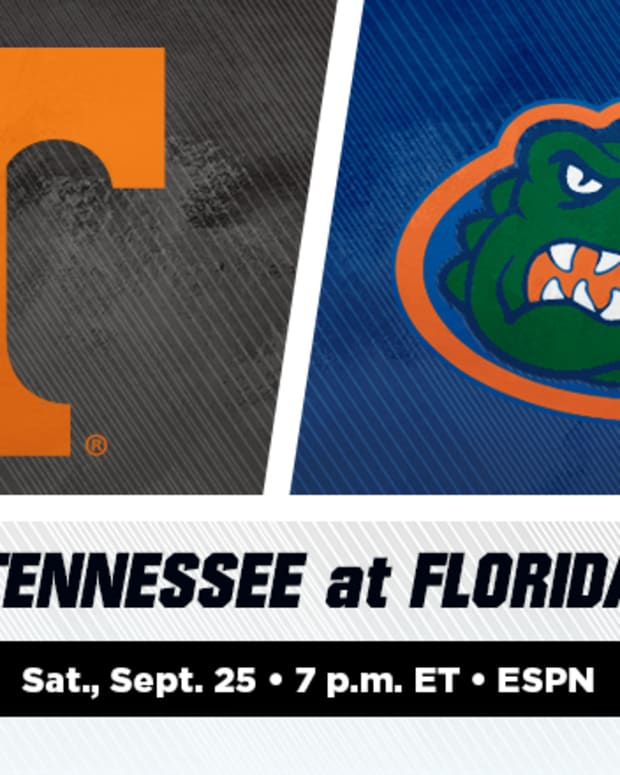 Tennessee Volunteers vs. Florida Gators Prediction and Preview