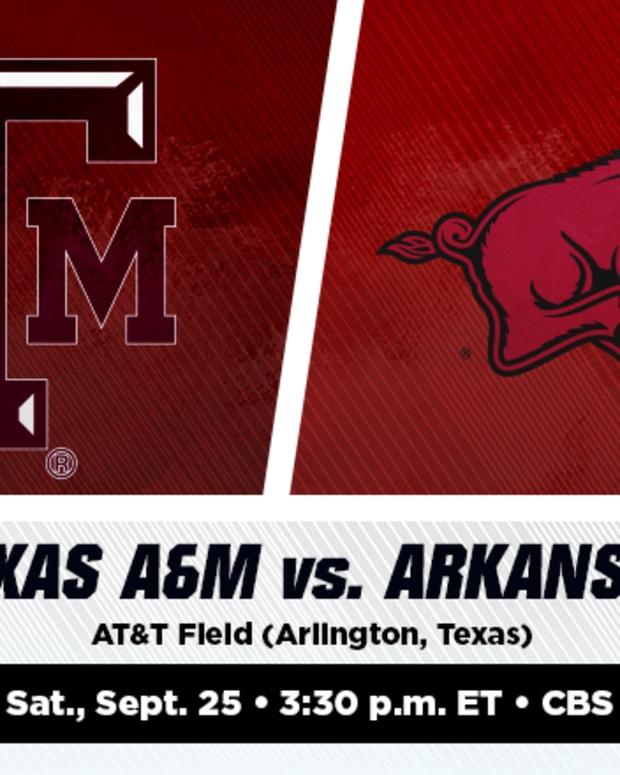 Texas A&M Aggies vs. Arkansas Razorbacks Prediction and Preview