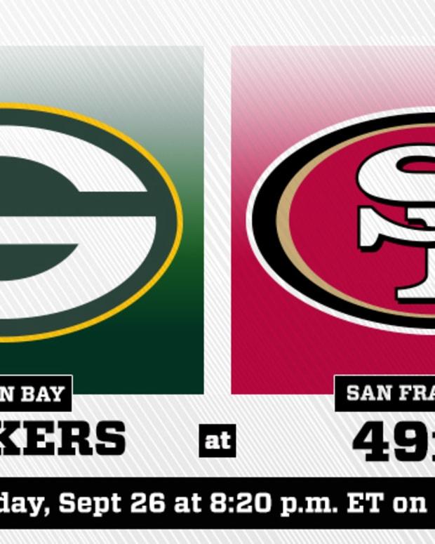 Sunday Night Football: Green Bay Packers vs. San Francisco 49ers Prediction and Preview