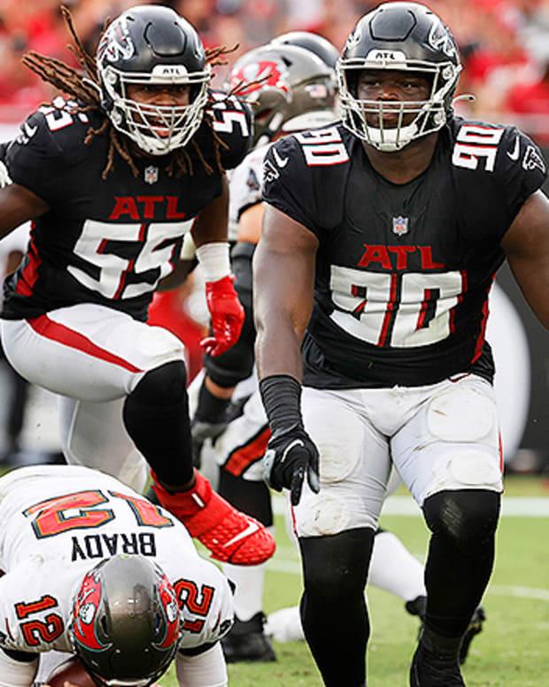 Marlon Davidson, Atlanta Falcons