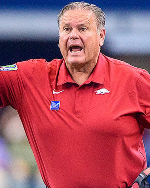 Sam Pittman, Arkansas Razorbacks Football