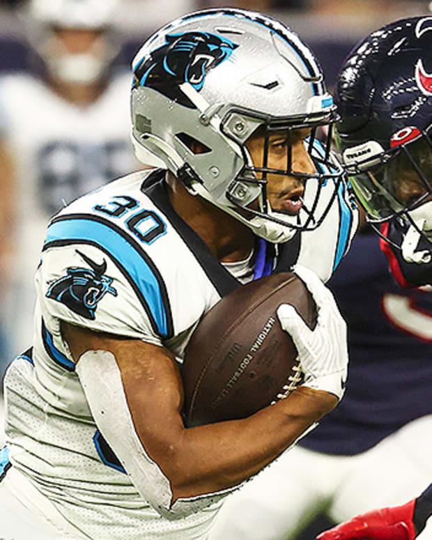 Chuba Hubbard, Carolina Panthers