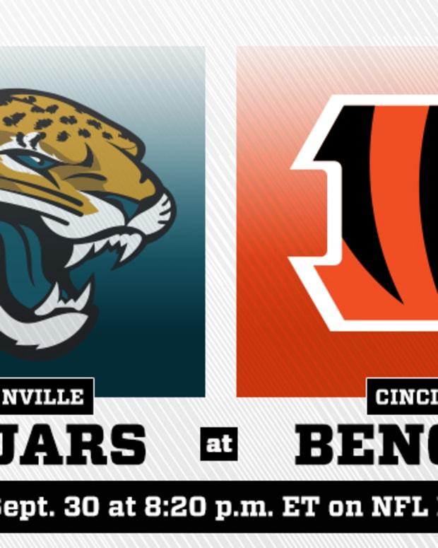Thursday Night Football: Jacksonville Jaguars vs. Cincinnati Bengals Prediction and Preview
