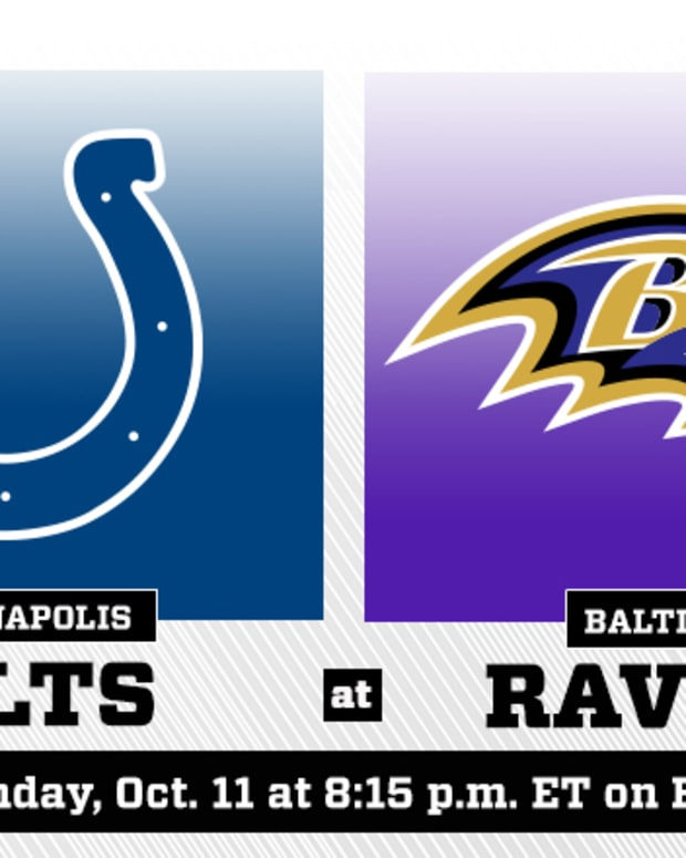 Monday Night Football: Indianapolis Colts vs. Baltimore Ravens Prediction and Preview