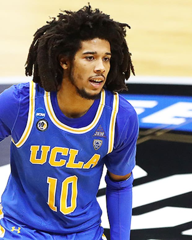 Tyger Campbell, UCLA Bruins Basketball in Elite Eight of 2021 NCAA Tournament