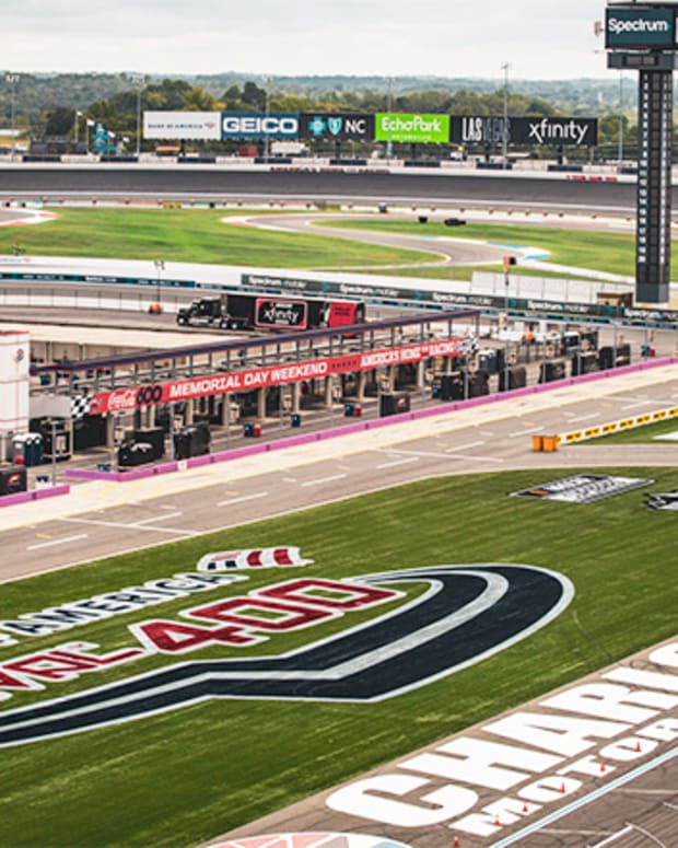 Charlotte Motor Speedway ROVAL Course