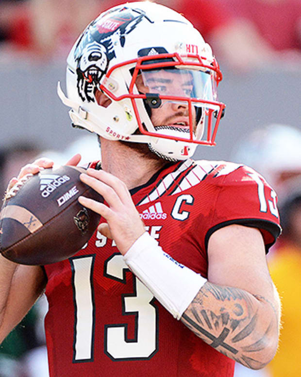 Devin Leary, NC State Wolfpack Football
